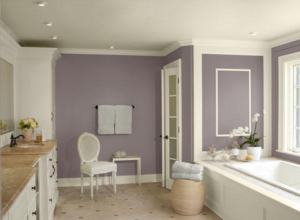 Peindre une salle de bains le choix de la peinture mon - Peintures salle de bain ...